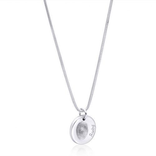Charm on Snake Necklace