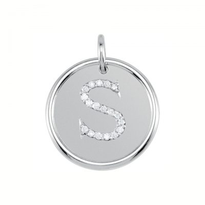 Sterling Silver Posh Mommy Roxy Pendant