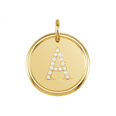 14K Posh Mommy Roxy Pendant