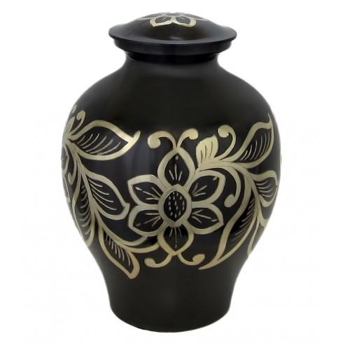 black-gold-floral-brass-urn-002