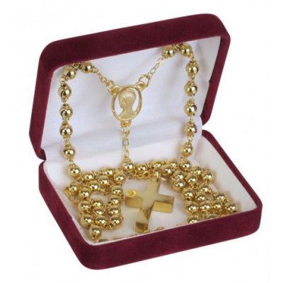 Rosary Gold Keepsake Urn