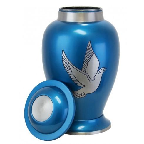 Dove Spirit Pewter Urn