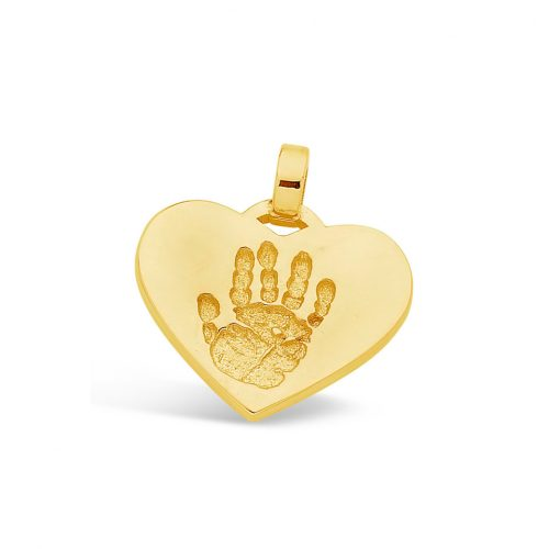 yellow-gold-heart-single-hand